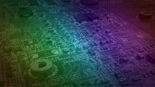 Abstract, Desktop, Pattern, Pcb, Circuit Board