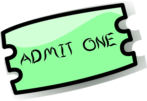 Ticket, Admission, Entry, Theater, Movie, Cinema