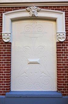 Wall, Facade, Front, Fake Door, Blind Door, Decoration