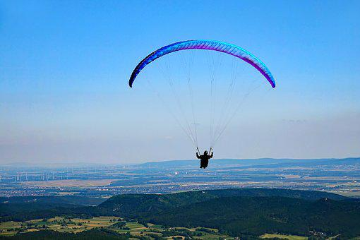 Sky, Paragliding, Freedom, Fly