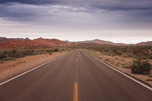 Road, Desert, Travel, Highway, Sky, Hiking, Red Rocks