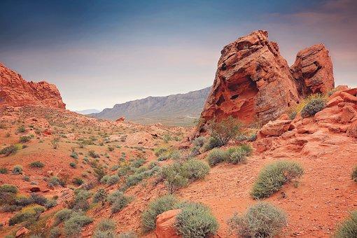 Desert, Sandstone, Landscape, Rock, Travel, Hiking