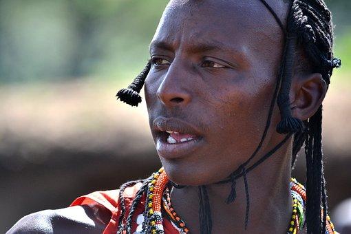 Face, Africa, Kenya, Man, Travel, People
