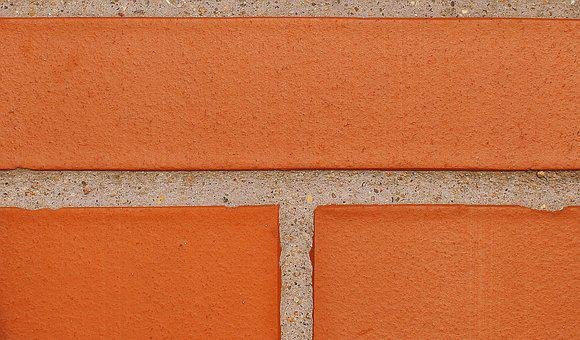Brick, Lake Dusia, Wall, Texture, Model, Closeup