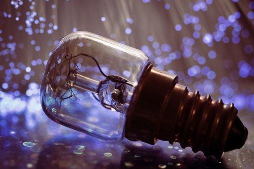 Light Bulb, Light, Lamp, Pear, Energy, Enlightenment