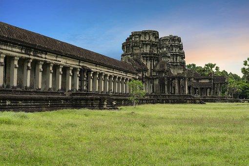 Antenna Beveled, Cambodia, Siem Reap, Natural, Asia