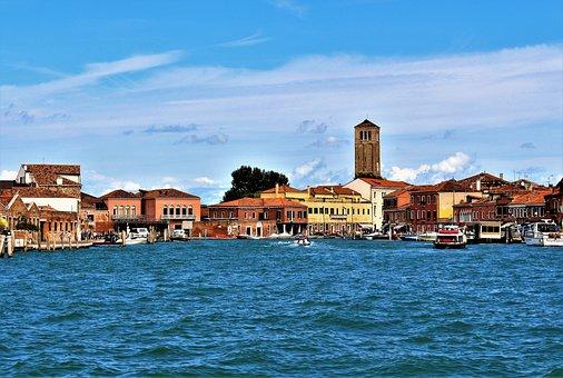 Buildings, Horizon, Water, Architecture, City, Sea