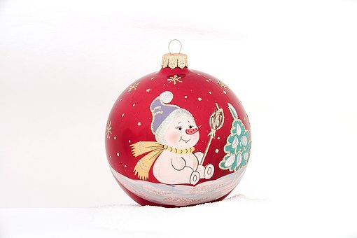 Christmas, Area, Ornament, Ball, Bright, Winter, Season