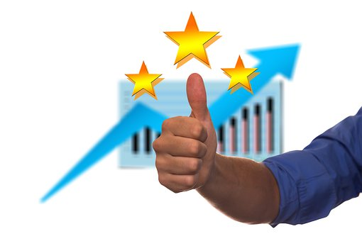Thumb, Success, Arrow, Course, Star, Experts, Quality