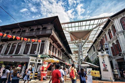 Singapore, Chinatown, Tourist Attraction, Tourist