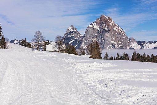 Switzerland, Stoos, Village, Alpine, Travel