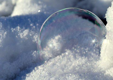 Winter, Nature, Snow, Cold, Soap Bubble, Bubble, About