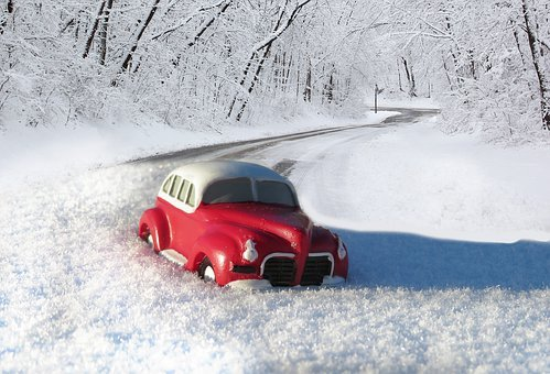 Car, Driving, Snow, Winter, Frost, Cold, Ice
