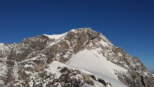 Ortler, Summit, Hintergrat, Alpine, Mountains