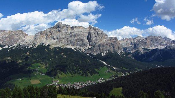 Alta Badia, Dolomites, Alps, Badia, Landscape, Dolomiti