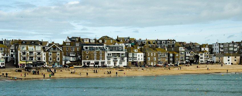 St Ives, Cornwall, Beach, Artistic, Scenery, Sky, Coast