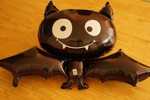 Bat, Funny, Child, Fun, Decoration, Halloween