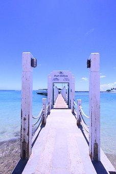 Waikiki, Beach, Hilton, Blue, Coast, Endless Summer