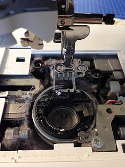 Sew, Sewing Machine, Embroidery, House Work, Bobbin