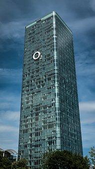 Hochhaus Uptown München, O2 Tower, Skyscraper, Building