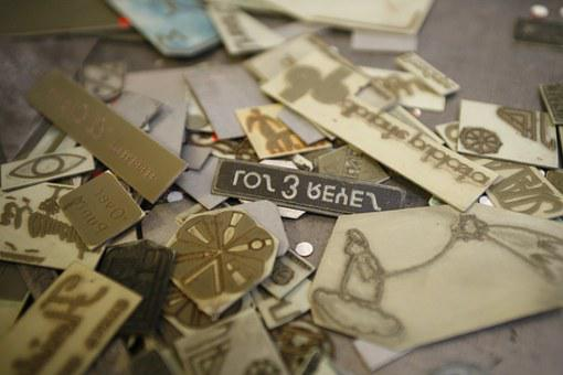 Typography, Catholic, Letters, Lyrics, Lead