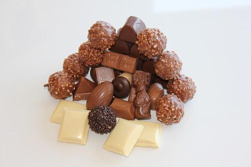 Chocolate, White Chocolate, Brown Chocolate, Candy