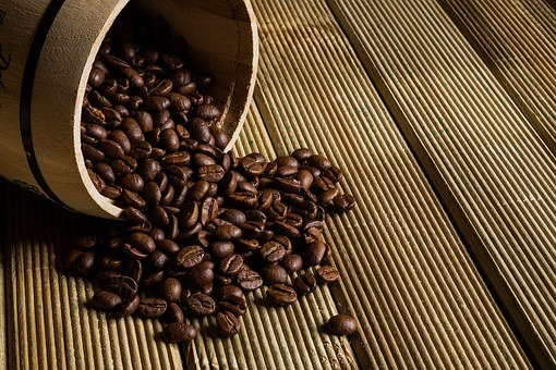 Coffee Grains, Coffee, The Drink, Caffeine, Toasted