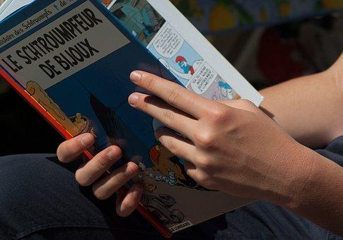 Reading, Comic, Album, Book