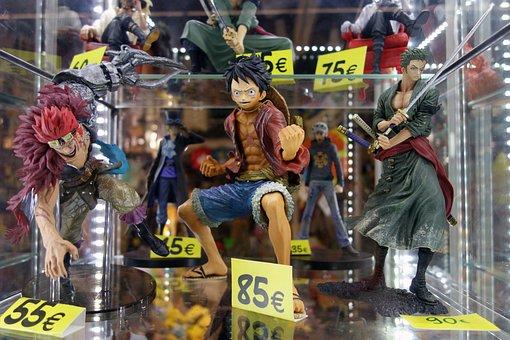 Anime, Fig, Anime Figures, Manga, Comiccon, Comic