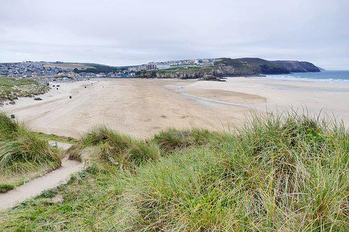 Penhale Sands, Perranporth, Perranporth Beach, Cornwall