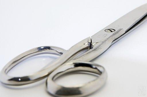 Scissors, Sharp, Cut, Office, Household Scissors