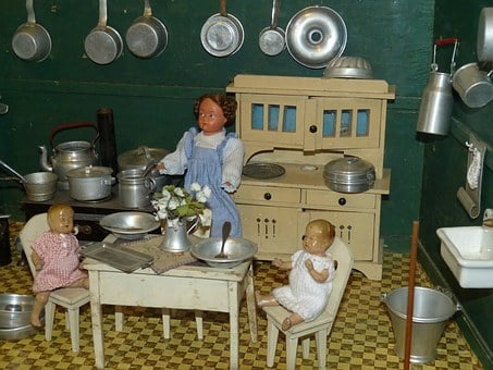 Dolls Houses, Doll, Play, Toys, Children Toys