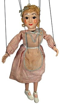 Puppet, Strings, Marionette, Control, Doll, Human, Toy