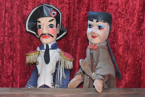 Dolls, Puppet-show, Guignol, Lyon, Theatre