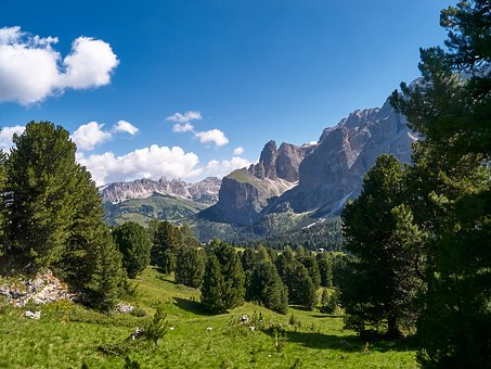 Nature, Landscape, Mountains, Forest, Rock, Alpine