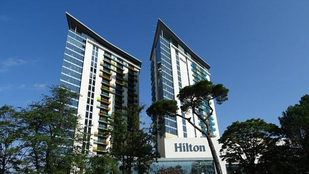 Hotel, Hilton, Batumi