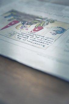 Newspaper, Info, Medium, Information, Messages, Symbol