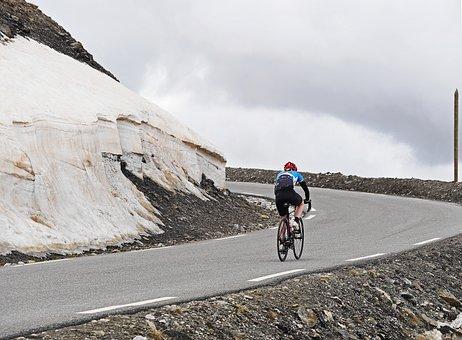 Col De La Bonette, June, Mountain Pass, Pass Road