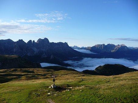Mountains, Alpine, Morgenstimmung, Landscape, Nature