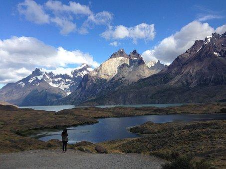 Horns, Patagonia, Nature, Lakes, Mountains, Holiday