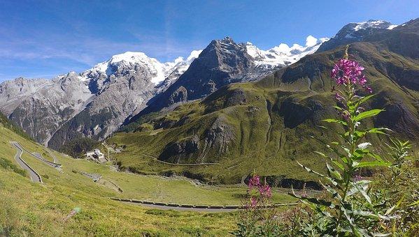 Italy, Alpine, Stelvio Yoke, Mountains, South Tyrol