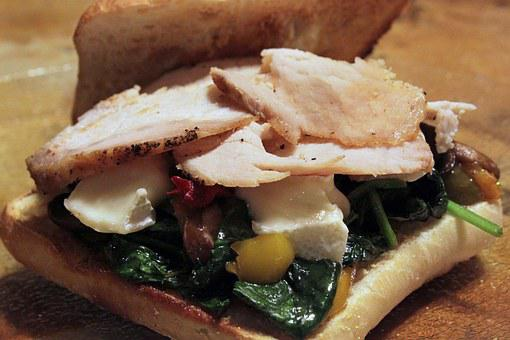 Pork, Spinach, Brie, Mushroom, Cheese, Cuisine, Diet