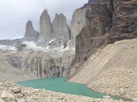 Torres, Patagonia, Nature, Torres Del Paine