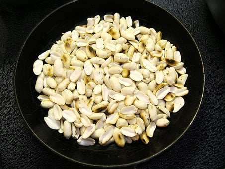 Nuts, Dry Roasted, Forehead, Toasted, Dining, Food