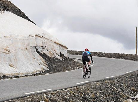 Col De La Bonette, June, Mountain Pass, Pass Road