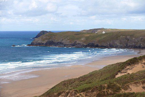 Penhale Sands, Perranporth, Cornwall, Beach, Beaches