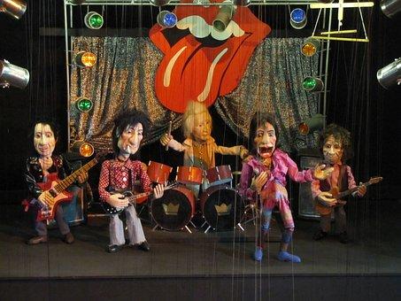 Augsburg, Puppet Theatre, Rolling Stones