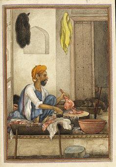 Badhak, Qassab, Caste, Butcher, Artwork