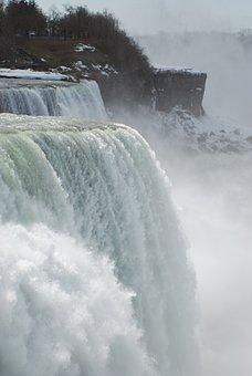 Niagara, Water Falls, Scenery, Ontario, Flowing