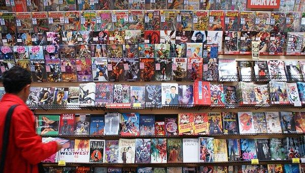 Comic Book, Marvel, Books, Shop, Comics, Graphic Novel